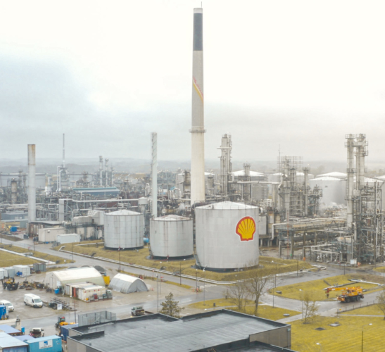 Shell Raffinaderiet<