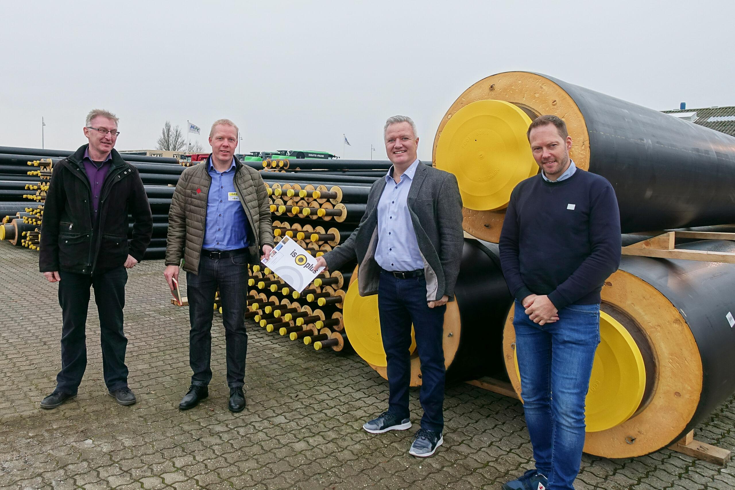 Isoplus leverer 20 km rør til Vejle<